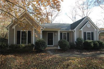 Seneca SC Single Family Home For Sale: $135,000