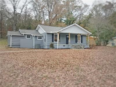 Piedmont Single Family Home For Sale: 204 S Circle Drive