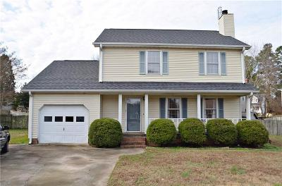 Easley Single Family Home Contract-Take Back-Ups: 105 Elizabeth Court