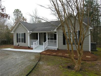 Central Single Family Home Contract-Take Back-Ups: 273 Horseshoe Road