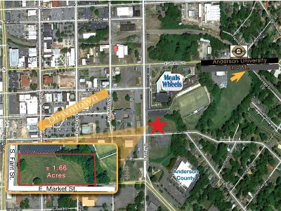 Anderson Commercial For Sale: 00 S Fant Street