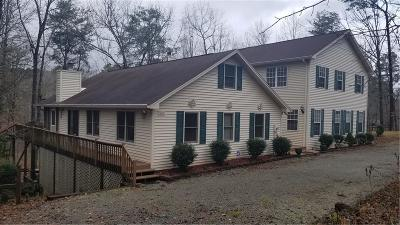 Westminster SC Single Family Home For Sale: $550,000