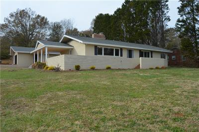 Pickens Single Family Home For Sale: 100 Highland Drive