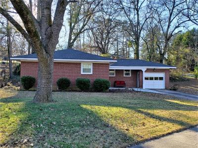 Anderson Single Family Home For Sale: 2505 Millgate Road