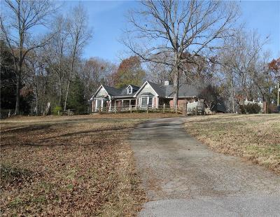 Anderson County Single Family Home For Sale: 1334 Project Road
