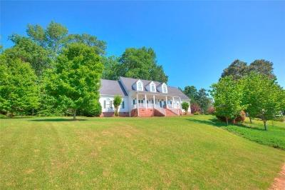 Easley Single Family Home Contract-Take Back-Ups: 133 Red Maple Circle