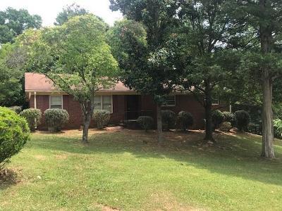 Williamston SC Single Family Home For Sale: $179,900