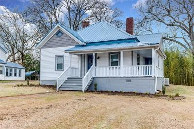Pelzer Single Family Home For Sale: 505 Anderson Street