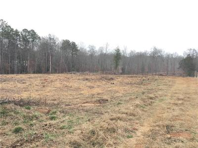 Oconee County, Pickens County Residential Lots & Land For Sale: 00 Old Seneca Road