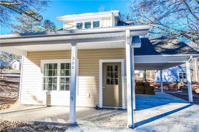 Walhalla Single Family Home For Sale: 383 E Woodland Drive