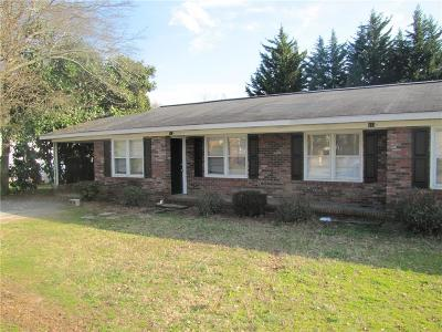 Easley Multi Family Home For Sale: 113 Gilliland Avenue