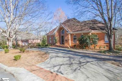 Easley Single Family Home For Sale: 105 Greenleaf Lane