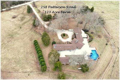 Single Family Home For Sale: 258 Patterson Road