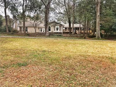 Easley Single Family Home For Sale: 102 Crawford Lake Drive