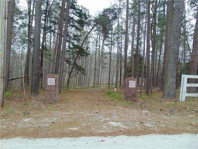Anderson County, Oconee County, Pickens County Residential Lots & Land For Sale: Riverbend Road