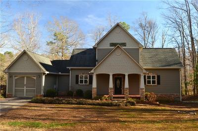 Hart County, Franklin County, Stephens County Single Family Home For Sale: 105 Sunrise Drive