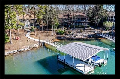 Keowee Key Single Family Home Contract-Take Back-Ups: 30 Quartermaster Drive