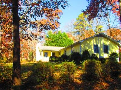 Pickens County Single Family Home Contract-Take Back-Ups: 325 Wellington Way