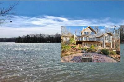 Lavonia, Martin, Toccoa, Hartwell, Lake Hartwell, Westminster, Anderson, Fair Play, Starr, Townville, Senca, Senea, Seneca, Seneca (west Union), Seneca/west Union, Ssneca, Westmister, Wetminster Single Family Home For Sale: 290 Coves End Point