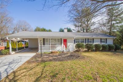 Pickens County Single Family Home For Sale: 115 Northway Drive