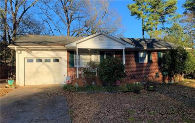 Anderson Single Family Home Contract-Take Back-Ups: 406 Lilac Street