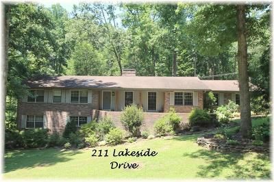 Single Family Home For Sale: 211 Lakeside Drive