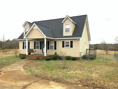Anderson County Single Family Home For Sale: 194 Windred Brock Road