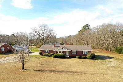 Abbeville County Single Family Home For Sale: 6245 Keowee Road