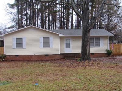 Pickens County Single Family Home For Sale: 303 Spring Forest Drive
