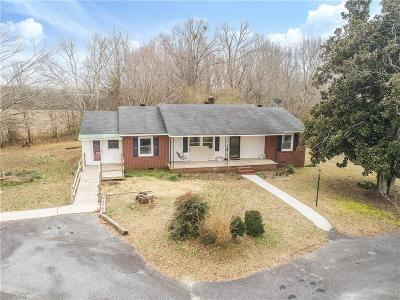 Townville Single Family Home For Sale: 300 Shirley Circle