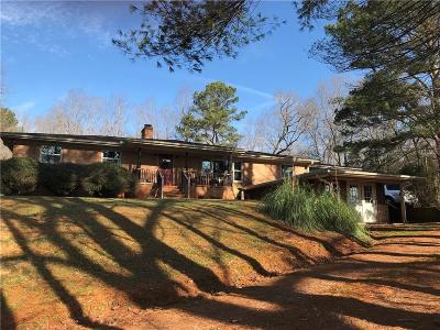 Pickens Single Family Home For Sale: 156 Hagood Mill Road