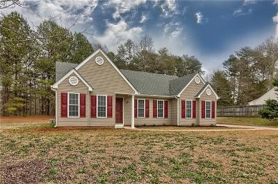 Anderson County Single Family Home Contract-Take Back-Ups: 3338 Centerville Road