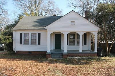 Anderson Single Family Home For Sale: 2408 Edgewood Avenue