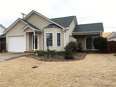 Easley Single Family Home For Sale: 104 Waterford Way