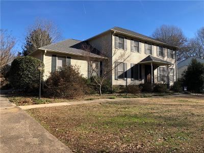 Clemson Single Family Home Contract-Take Back-Ups: 107 Shaftsbury Road