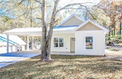 Oconee County Rental Contract-Take Back-Ups: 220 W Woodland Drive