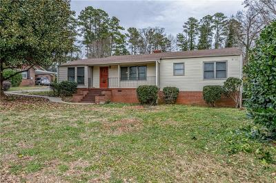 Pickens Single Family Home For Sale: 3020 Gentry Memorial Highway