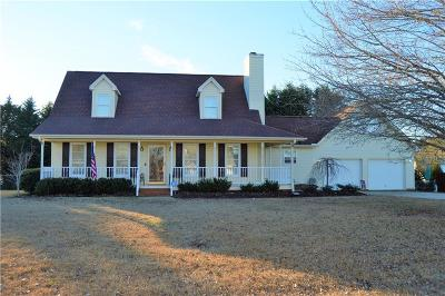 Easley Single Family Home Contract-Take Back-Ups: 125 Rochester Road