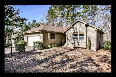 Keowee Key Single Family Home Contract-Take Back-Ups: 11 Pine Garden Way Drive