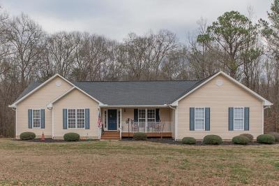 Anderson County Single Family Home Contract-Take Back-Ups: 932 Brick Mill Road