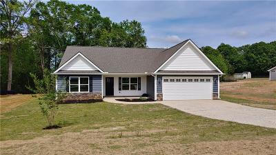 Williamston Single Family Home For Sale: 114 Sheila Drive
