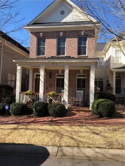 Clemson Townhouse Contract-Take Back-Ups: 212 Village Walk Lane