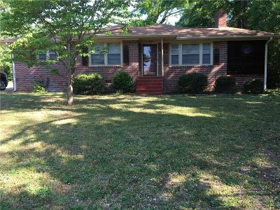 Anderson Single Family Home Contract-Take Back-Ups: 406 Pine Hill Court