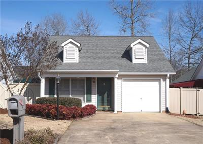 Anderson SC Single Family Home Contract-Take Back-Ups: $152,500