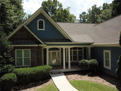 Oconee County, Pickens County Single Family Home Contract-Take Back-Ups: 262 Waterstone Drive