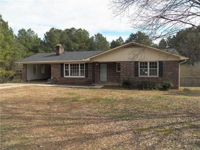 Westminister, Westminster, Westminter Single Family Home For Sale: 1733 Toccoa Highway