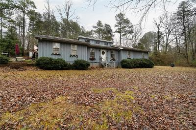 Liberty Single Family Home For Sale: 159 Callaham Acres Road