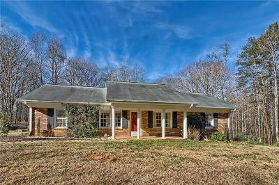 Easley Single Family Home Contract-Take Back-Ups: 301 Henderson Road