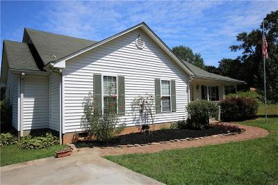 Central Single Family Home For Sale: 1517 Old Central Road