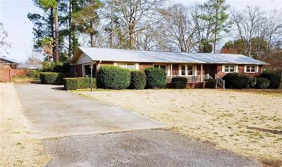 Anderson Single Family Home For Sale: 111 Pine Forest Drive